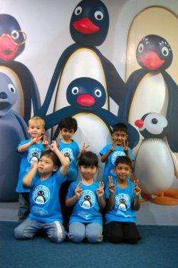 learn English with Pingu