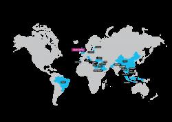 franchise map